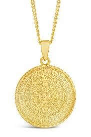 sterling forever medallion pendant
