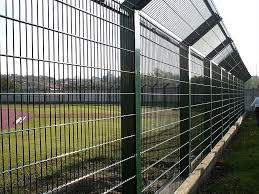 Welded Mesh Fence Recintha Stadium By Nuova Defim