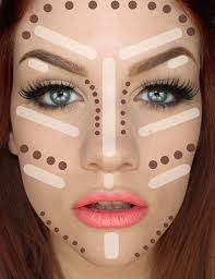 makeup to make your face look thinner