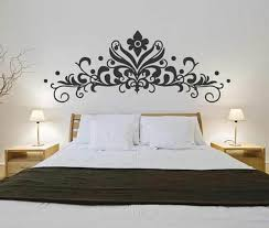Baroque Headboard Wall Decal Sticker Bedroom Decorative Mural Removable Vinyl Flowers Wall Stickers Home Decor Living Room Sticker Home Decor Sticker Murals From Joystickers 10 85 Dhgate Com