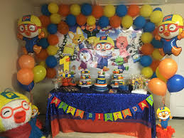 Pororo Decoration Party Pororo Fiestas Infantiles Fiestas