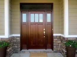 an exterior fiberglass door painting