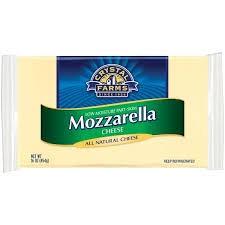 crystal farms mozzarella cheese brick