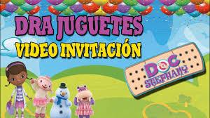 Invitaciones Infantiles Dra Juguetes Video Invitacion Youtube