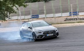 2020 mercedes amg cla45 s is the most