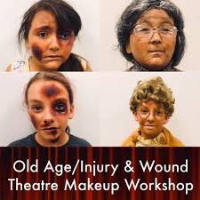 old age injury and wound theatre makeup