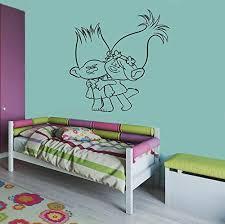 Dreamworks Trolls Branch Poppy Vinyl Kids Decal Room Ideas Bedroom Bedroom Themes Bedroom Decor