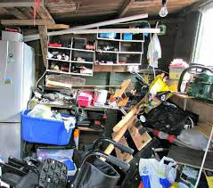 how to organize your storage shed and