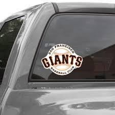 Official San Francisco Giants Car Decals Giants Auto Truck Emblems Mlbshop Com