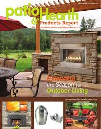 patio and hearth products report sept