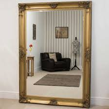 decorative ornate wall mirror 7ft x 5ft