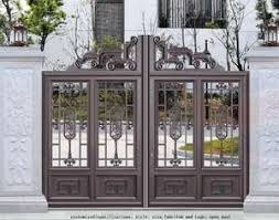 Factory Direct Farm Fence Gate Hinges Garden Entrance Iron Gate Designs For Home