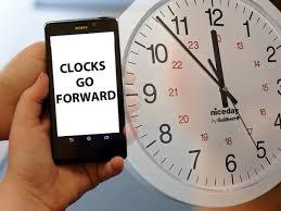 When do the clocks go forward in 2018 ...