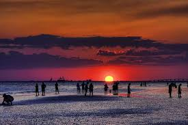 sunset fort myers beach florida the