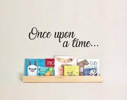Once Upon A Time Wall Decal Etsy