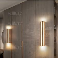 led wall lamp aluminum wall sconce