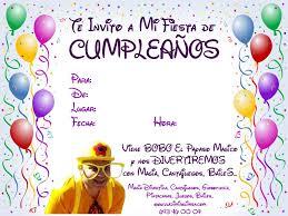Invitaciones Cumpleanos Con Foto Para Pantalla Hd 2 Fondosmovil Net