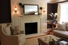 large mirror over fireplace if i
