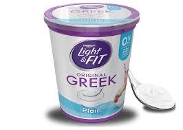 plain greek yogurt light fit