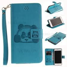 pu leather wallet case for iphone 7