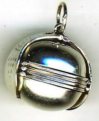 925 sterling silver 6 photo ball locket