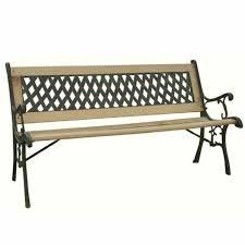 patio wooden garden bench