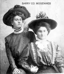 Ada Morris Prunkard and Bertha Skaggs   Barry Co., MO