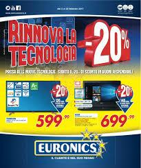 Volantino Euronics - Rinnova la tecnologia -20% (Siem) - febbraio ...