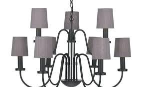 black silk chandelier shades lighting