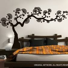 Modern Bonsai Tree Wall Decal Decalmywall Com