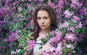 Wallpaper look, girl, branches, mood, Fox, curls, IVA, Fox, Nastya,  Anastasia Dobrovolskaya images for desktop, section настроения - download