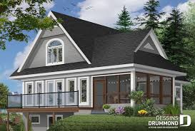 chalet waterfront homes
