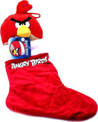 Angry Birds Red Bird Christmas Stocking Commonwealth Toys - ToyWiz