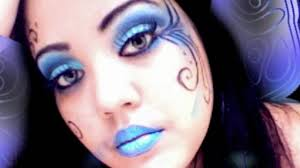 blue fairy makeup tutorial saubhaya