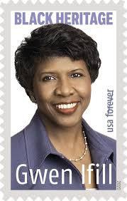Pioneering Black journalist Gwen Ifill honored on a U.S. stamp ...