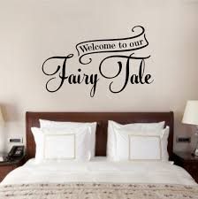 Winston Porter Harford Welcome To Our Fairy Tale Wall Decal Wayfair
