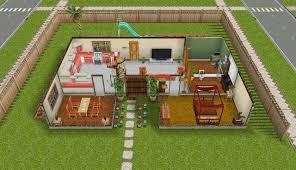 sims freeplay homes designs pretty