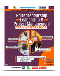 The Entrepreneurship Leadership & Project Management Workshop Powered  By NASPA, Accra Metropolitan Executives
