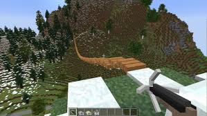 Rope Bridge Mod Minecraft Mods Minecraft City Rope Bridge Minecraft Mods