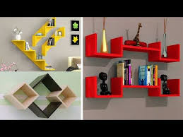 modern diy wall shelves design ideas