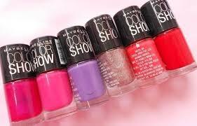6 perfect maybelline nail polish shades
