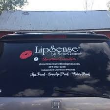 Lipsense Vinyl Decal Car Decal Business Logo Decal Lip Etsy