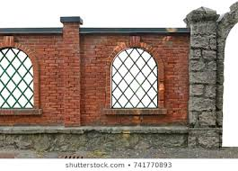 Brick Fence Images Stock Photos Vectors Shutterstock