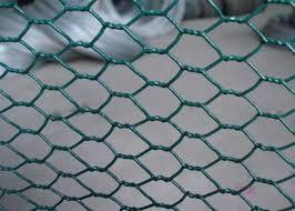 Galvanized Hexagonal Chicken Wire Mesh Pvc Coated 1 2 Hole Size