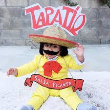 no sew diy hot sauce baby costume