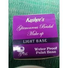 kashee s glamorous bridal make up base