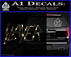 Slayer Decal Sticker A1 Decals
