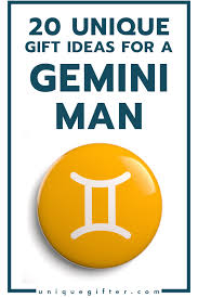 gift ideas for a gemini man his