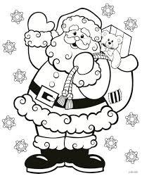 Kerstman Met Cadeautjes Kleurplaat Kleurplaatje Nl