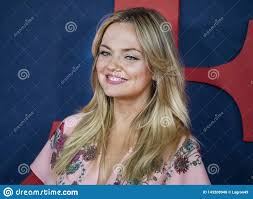 Emily Meade At The Premiere Of Final Season Of VEEP Editorial ...